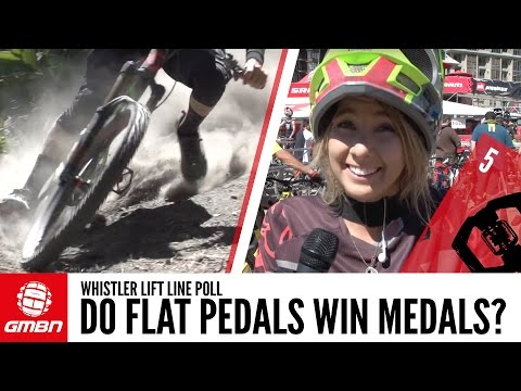 Do Flat Pedals Win Medals? Clips Vs Flats Whistler Life Line Poll