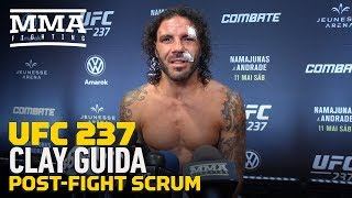 UFC 237: Clay Guida Calls Out Nate Diaz After B.J. Penn Win, Then Gets Some Bad News - MMA Fighting