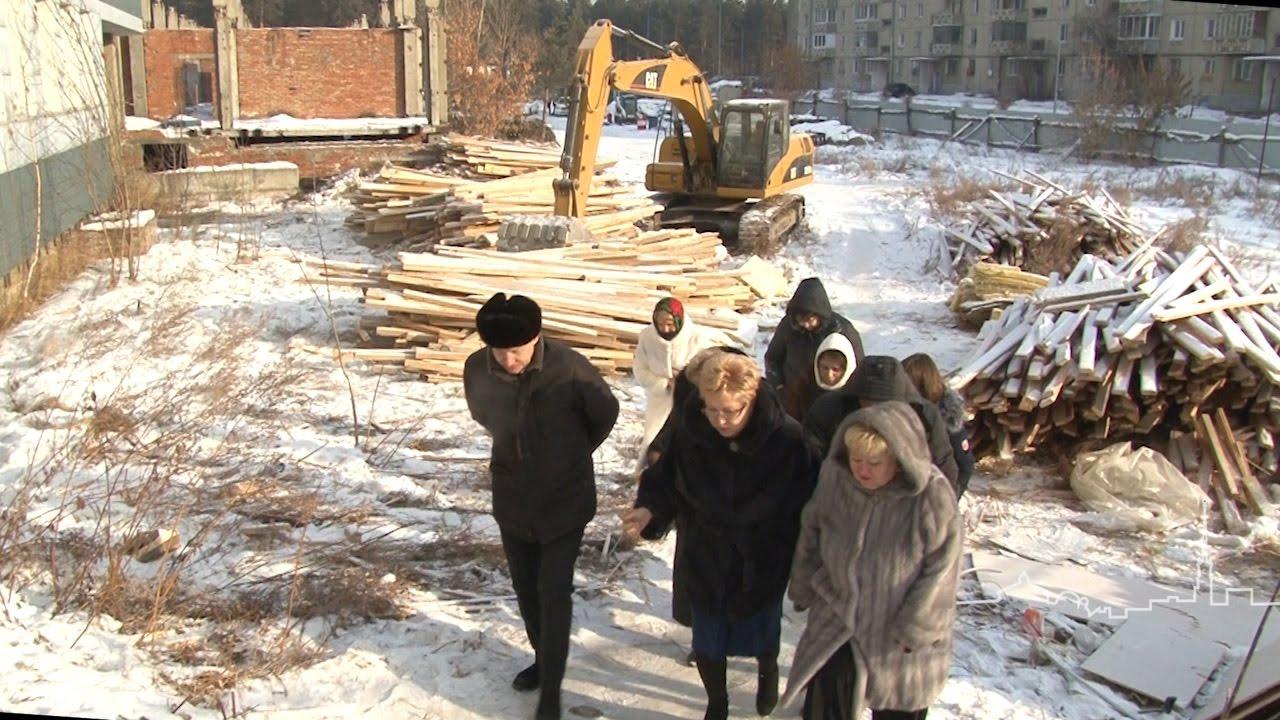 Министр образования Иркутской области посетила новый детский сад и школу в 7а микрорайоне Ангарска