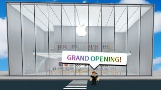 MAKING AN APPLE STORE IN ROBLOX *FROM SCRATCH*