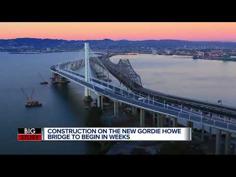 Gordie Howe International Bridge will begin construction this month