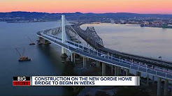 Gordie Howe International Bridge will begin construction this month