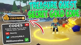 *3 Codes* For Effect & Potion In Treasure Quest Roblox