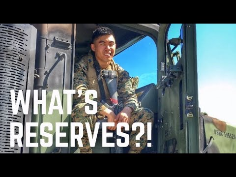 Life As A Marine Reservist