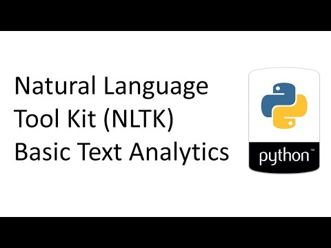 NLTK   Basic Text Analytics