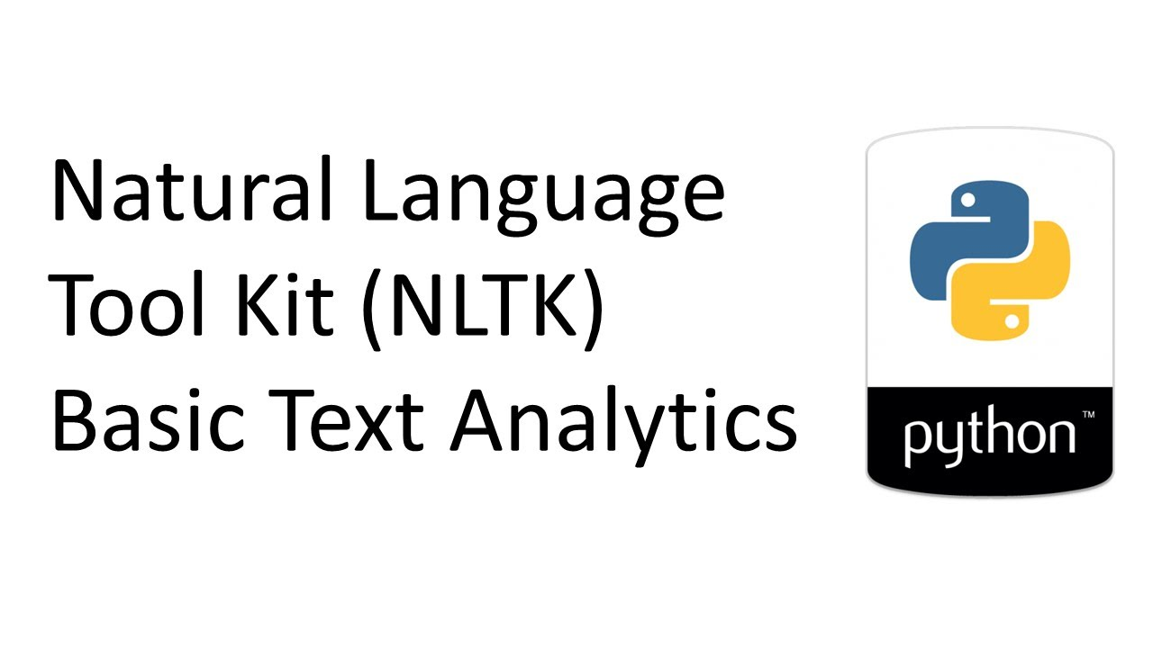 Natural Language Toolkit (NLTK) - PRIMO ai