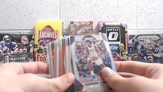 2017-18 Prizm Basketball Cello Box- 4 Packs break 1 of 3
