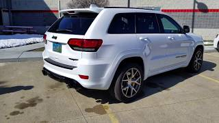 JEEP GRAND CHEROKEE TRACKHAWK WITH CORSA EXHAUST