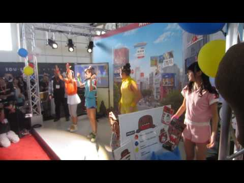 Tokyo Performance Domo - NHK World Booth At J-Pop Summit 2016 Clip 2