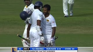 Highlights: 3rd Test, Day One – Pakistan in Sri Lanka 2015