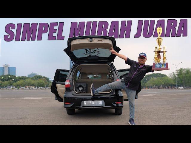 Modif Nissan Grand Livina SQ : Simpel, Murah, Juara | Buana Audio PMK