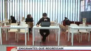 Emigrantes que regressam - Jornal da Noite SIC