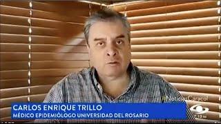 Carlos Enrique Trillos, epidemiólogo de la Universidad del Rosario.