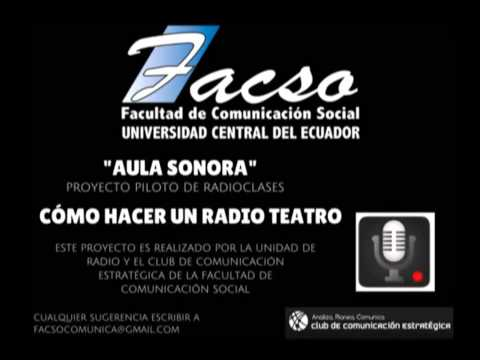Cómo hacer un radio teatro