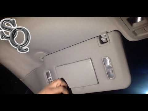 How to replace Cadillac CTS Sun Shade 2008 – 2014 at home