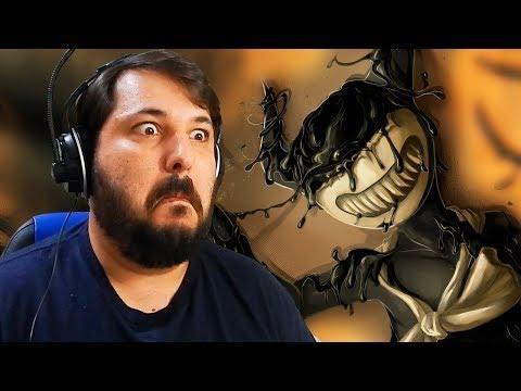 O TERROR ESTÁ DE VOLTA! BENDY AND THE INK MACHINE CHAPTER 3! Parte 1.