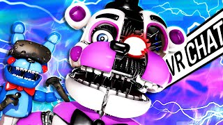 FUNTIME FREDDY Makes Girl LAUGH in VRCHAT!!!