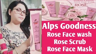 Alps Goodness Rose With Mulberry Face Wash Scrub Mask By Chhabi
