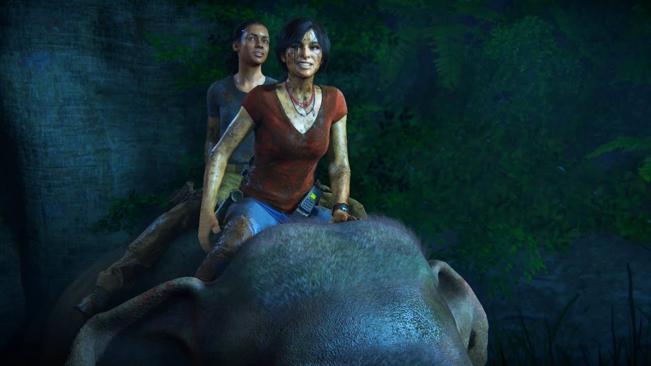 Image result for uncharted lost legacy elephant