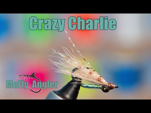 Calf Tail CRAZY CHARLIE! -  Underwater Footage! - Great Fly For Bonefish And Other Fish In The Flats