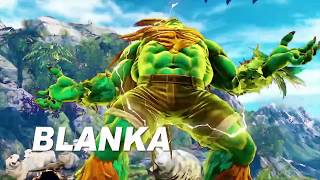 STREET FIGHTER 5   Blanka Gameplay Trailer SFV Arcade Edition