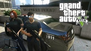 GTA 5 COPS N CROOKS! (COP PERSPECTIVE)