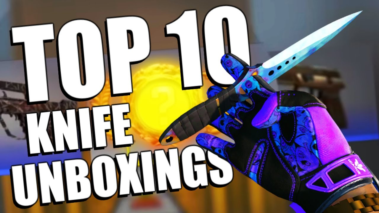 The Top 10 Most Expensive CSGO Knife Unboxing Videos!! | TDM_Heyzeus
