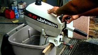 Motor Johnson 4 CV