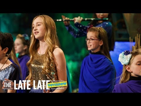 Moana – How Far I'll Go'  The Late Late Toy Show  RTÉ One