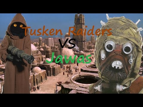 Star Wars: Battlefront II Hunt Mode (Tusken Raiders Vs. Jawas)