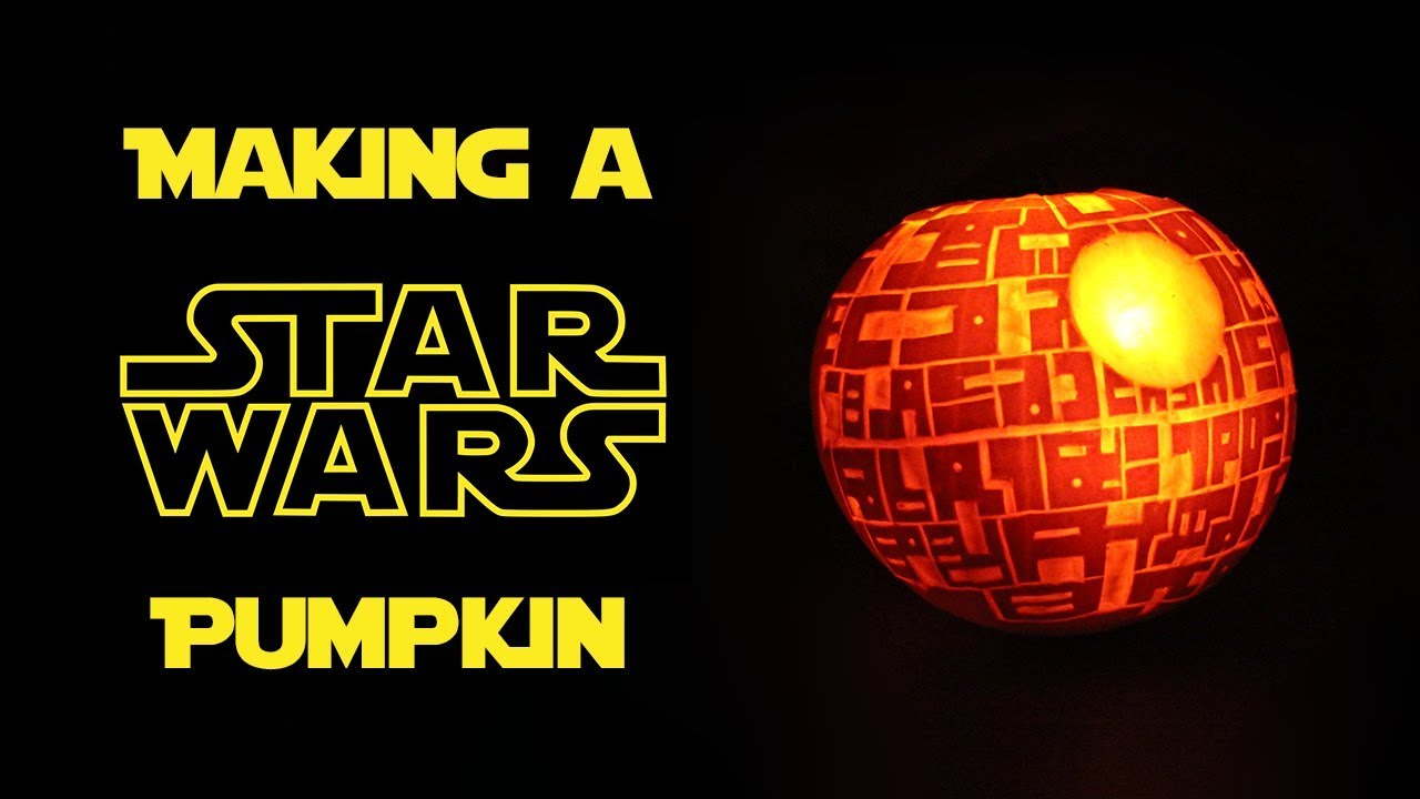 How to Make a Death Star Pumpkin How to Make a Death Star Pumpkin new images