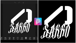 How To Make Logo On Your Phone (PicsArt)