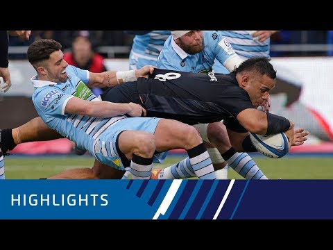 Saracens v Glasgow Warriors (P3) - Highlights 19.01.19