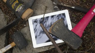iPad 3rd Generation Destruction