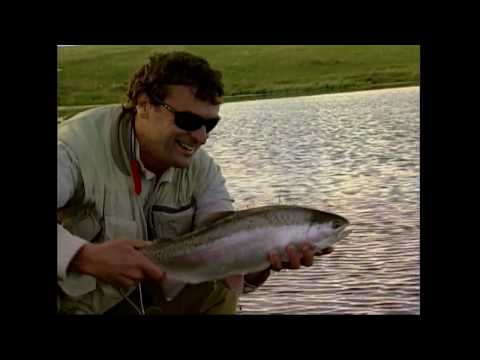 How To Fly Fish Stocked Lakes In Southern Alberta.