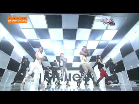 [HD] SHINee - Lucifer Music Bank Comeback [100723].mp4