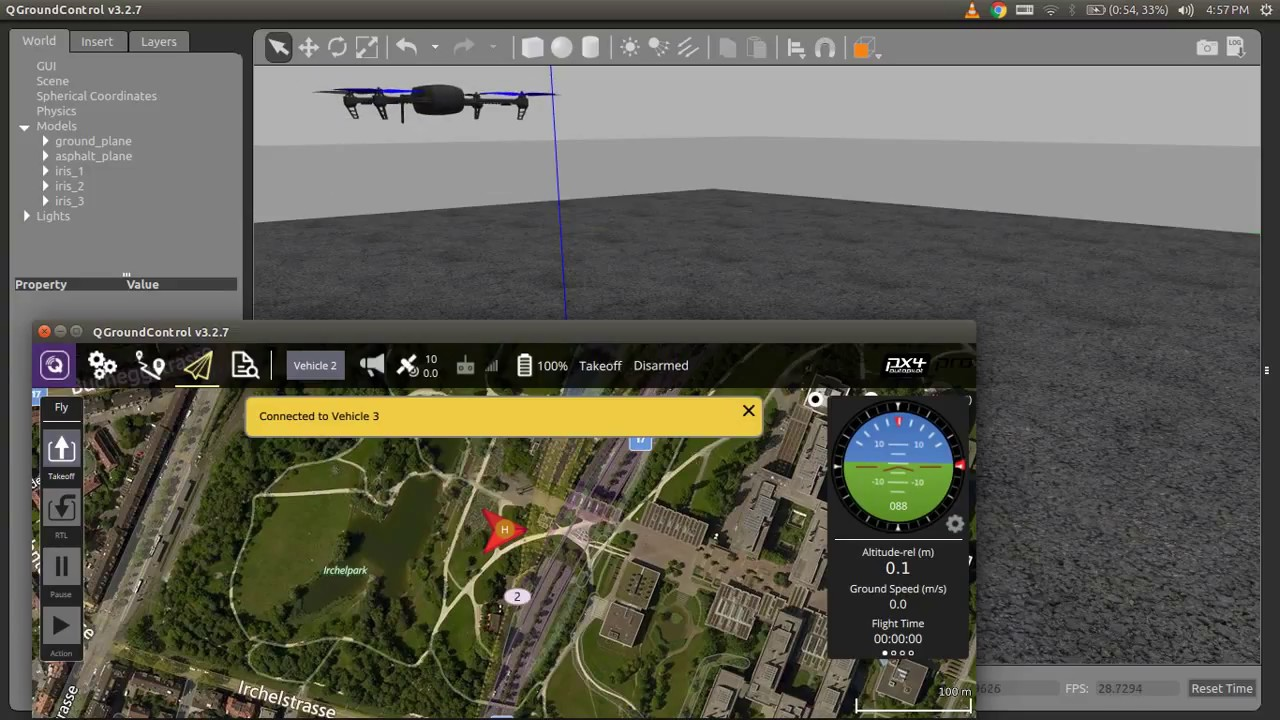 Multi Vehicle Simulation with Qgroundcontrol - DIY Drones