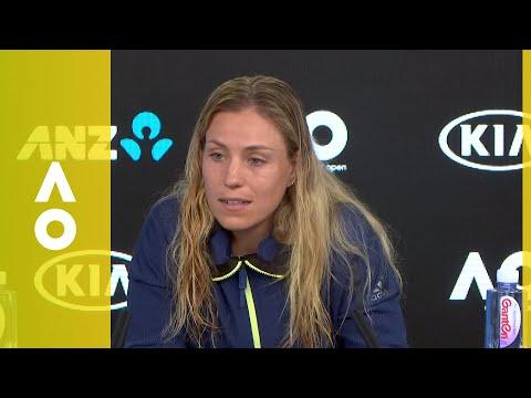 Angelique Kerber press conference (3R) | Australian Open 2018