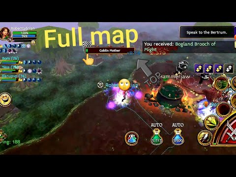 Full Map Deep Marsh | Arcane Legends