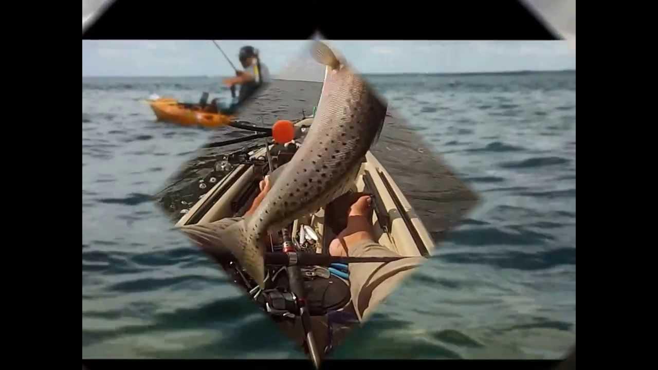 kayak fishing 10 2013 port st joe fl youtube
