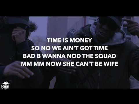 410 Skengdo x AM - Time Is Money (Lyrics)