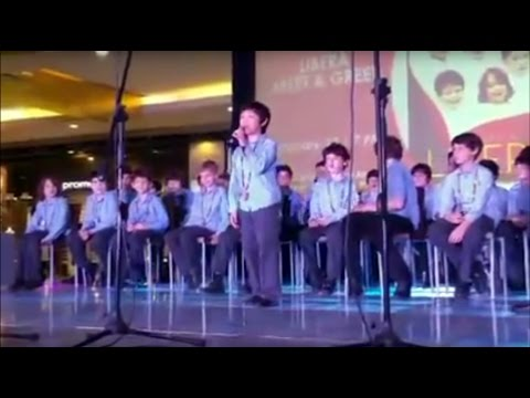 Libera at the M&G in SM Cebu City - Feb. 17th 2016