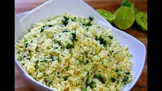 Incredible Cilantro Lime Rice #MeatFreeMonday | CaribbeanPot.com