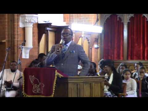 Bishop John Francis preaching @ AFB General Convention 2017