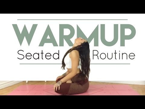 Seated Yoga Warm up | Beginner Friendly Yoga