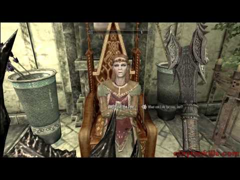 Skyrim: Taking Toryggs War Horn To Shrine Of Talos & Receiving Option To Buy House In Solitude