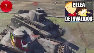 War Thunder - Elimino 9 enemigos con un tanque Reserva xD