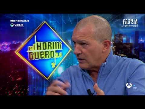 Antonio Banderas habla de Vibuk en El Hormiguero
