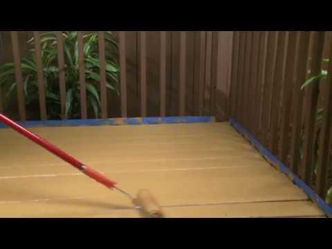 Comment Peindre Votre Terrasse Avec Deckover De Behr Premium