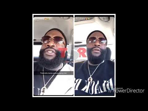 Rick Ross and baby mama feud on Instagram live